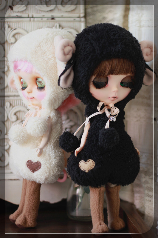Blythe-Sheep Outfit For Blythe By ChillyQi